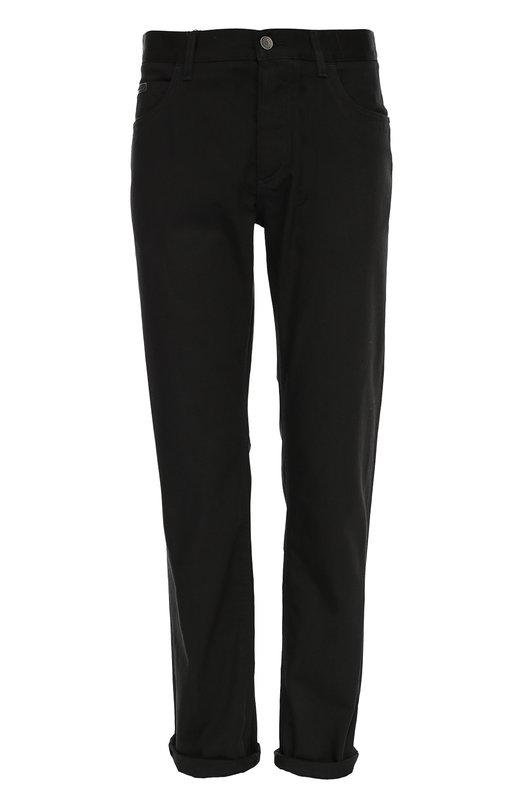 Джинсы прямого кроя с вышивкой на кармане Dolce & Gabbana 0101/G6SQCZ/G8T62
