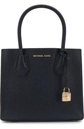 Сумка-тоут Mercer Medium Michael Michael Kors синяя | Фото №1