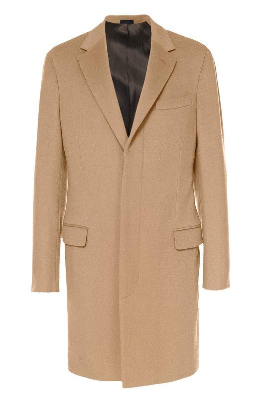 Шерстяное однобортное пальто с потайными пуговицами Lanvin RMC00006-M05900A16