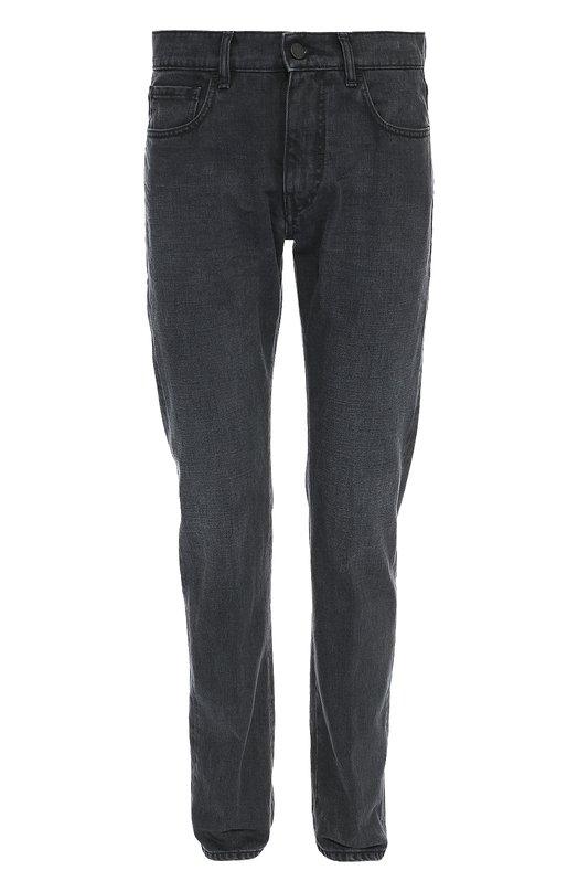 Купить Зауженные джинсы с классической посадкой Pal Zileri, 84224/31N/J426, Италия, Серый, Хлопок: 100%;