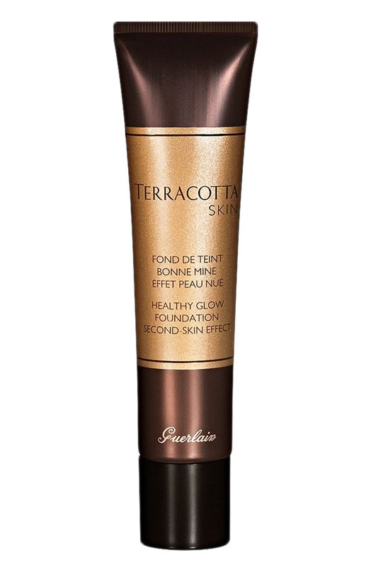 Купить Тональное средство с пудровым эффектом Terracotta Skin, оттенок 02 Brunette Guerlain, G041134, Франция, Бесцветный