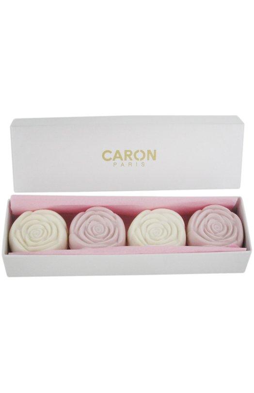 Мыло туалетное в виде розы Delire de Roses (4 шт.) Caron M406202