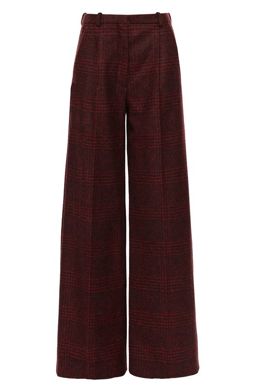 Широкие брюки в клетку с защипами Sonia Rykiel 16H 16231331-59
