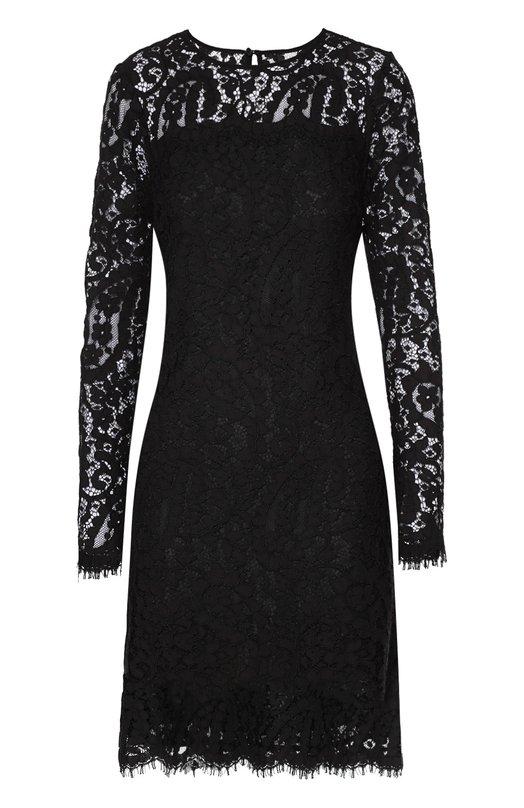 Приталенное кружевное мини-платье Michael Michael Kors MF68WHA53R