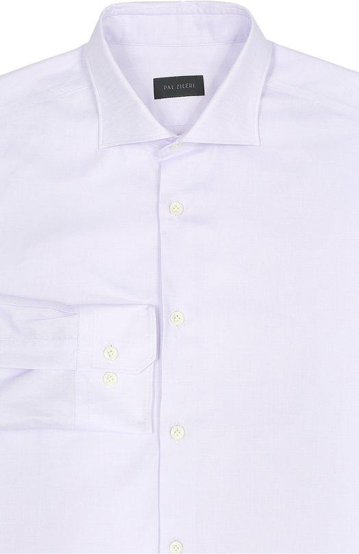 Хлопковая сорочка с воротником акула Pal Zileri 80714/370/G31S