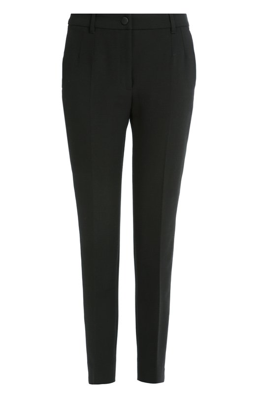 Брюки прямого кроя с карманами и стрелками Dolce & Gabbana 0102/FTAMUT/FUBB1
