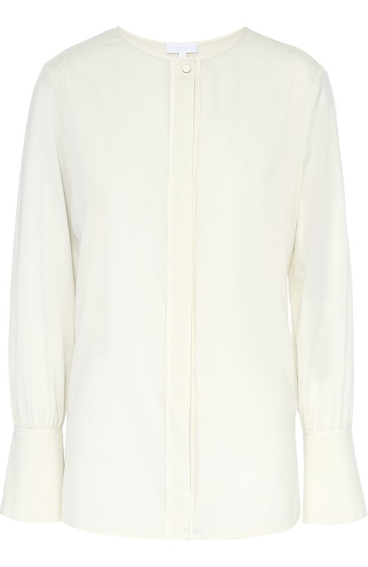 Блуза прямого кроя с круглым вырезом Escada Sport 5020117