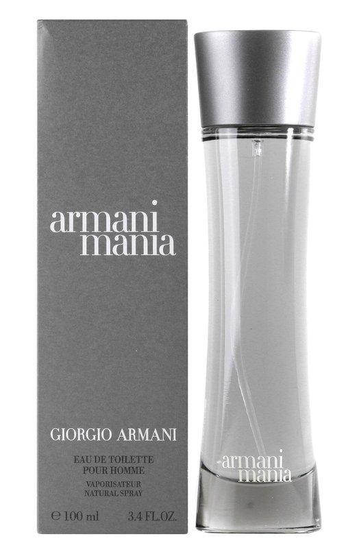 Туалетная вода Armani Mania Giorgio ArmaniАроматы для мужчин<br><br><br>Объем мл: 100<br>Пол: Женский<br>Возраст: Взрослый<br>Цвет: Бесцветный