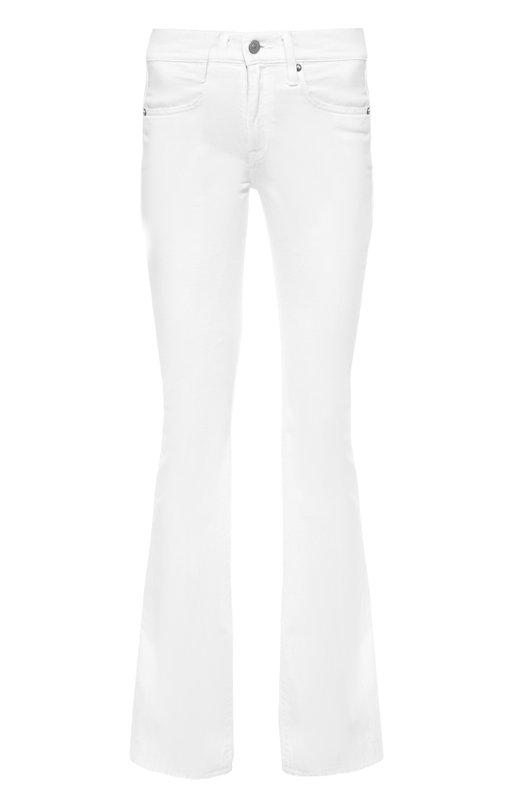 Джинсы Polo Ralph LaurenДжинсы<br>Ральф Лорен включил белые расклешенные джинсы в осенне-зимнюю коллекцию 2016 года. Для создания модели с завышенной талией использован мягкий хлопок стрейч. Пояс дополнен кожаной нашивкой с логотипом бренда. Нам нравится сочетать с рубашкой в полоску, а также сумкой и кедами цвета фуксии.<br><br>Российский размер RU: 42<br>Пол: Женский<br>Возраст: Взрослый<br>Размер производителя vendor: 26<br>Материал: Хлопок: 99%; Эластан: 1%;<br>Цвет: Белый