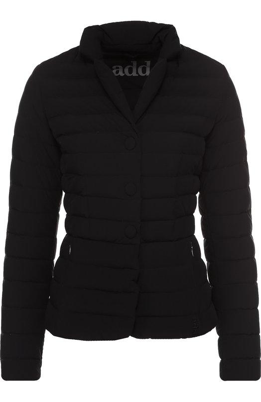 Укороченная стеганая куртка с воротником-стойкой Add MAW857