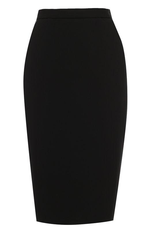 Юбка-карандаш с карманами EscadaЮбки<br>Черная юбка-карандаш Raras с узким поясом и боковыми карманами вошла в коллекцию сезона осень-зима 2016 года. Модель, застегивающаяся сзади на потайную молнию, сшита из эластичного плотного текстиля. Нам нравится сочетать с кардиганом, туфлями и сумкой в тон.<br><br>Российский размер RU: 42<br>Пол: Женский<br>Возраст: Взрослый<br>Размер производителя vendor: 34<br>Материал: Подкладка-купра: 94%; Триацетат: 60%; Подкладка-эластан: 6%; Полиэстер: 40%;<br>Цвет: Черный