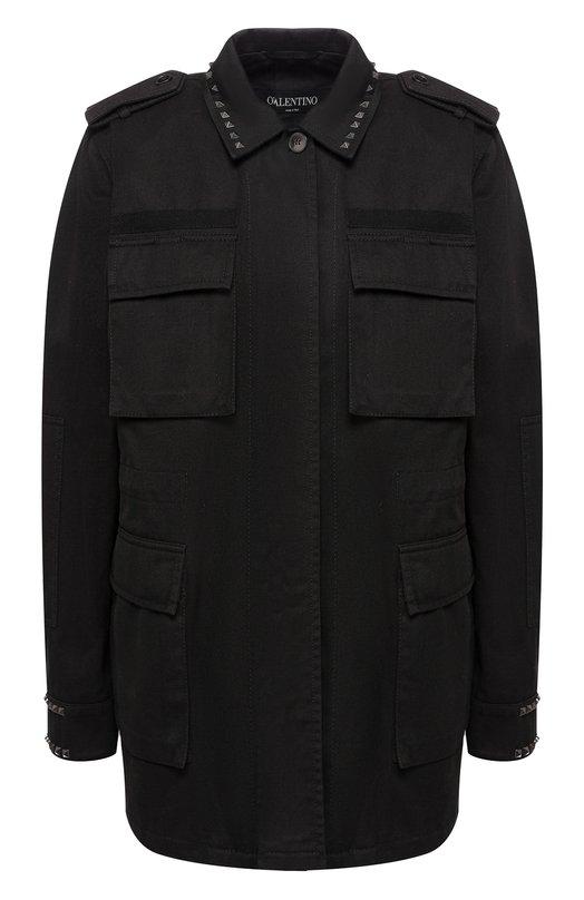 Френч с накладными карманами и шипами Valentino Valentino