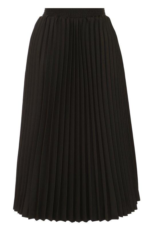 Плиссированная юбка с эластичным поясом Balenciaga 446423/TTF04