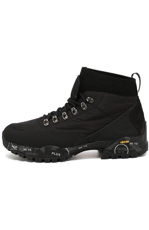Текстильные ботинки Loutreck на подошве с принтом Premiata L0UTRECK/102