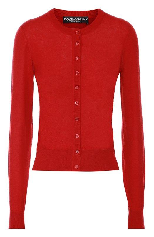Кашемировый кардиган с круглым вырезом Dolce & Gabbana 0102/FPC10K/F64F5