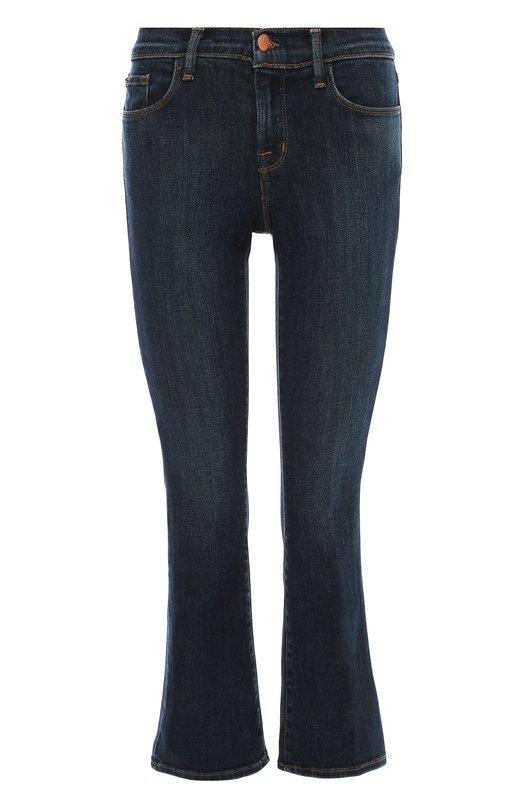 Укороченные расклешенные джинсы J BrandДжинсы<br><br><br>Российский размер RU: 44<br>Пол: Женский<br>Возраст: Взрослый<br>Размер производителя vendor: 28<br>Материал: Хлопок: 98%; Полиуретан: 2%;<br>Цвет: Синий
