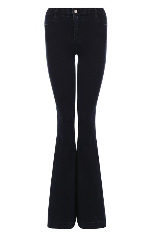 Расклешенные джинсы с карманами Stella McCartney 372775/SCH01