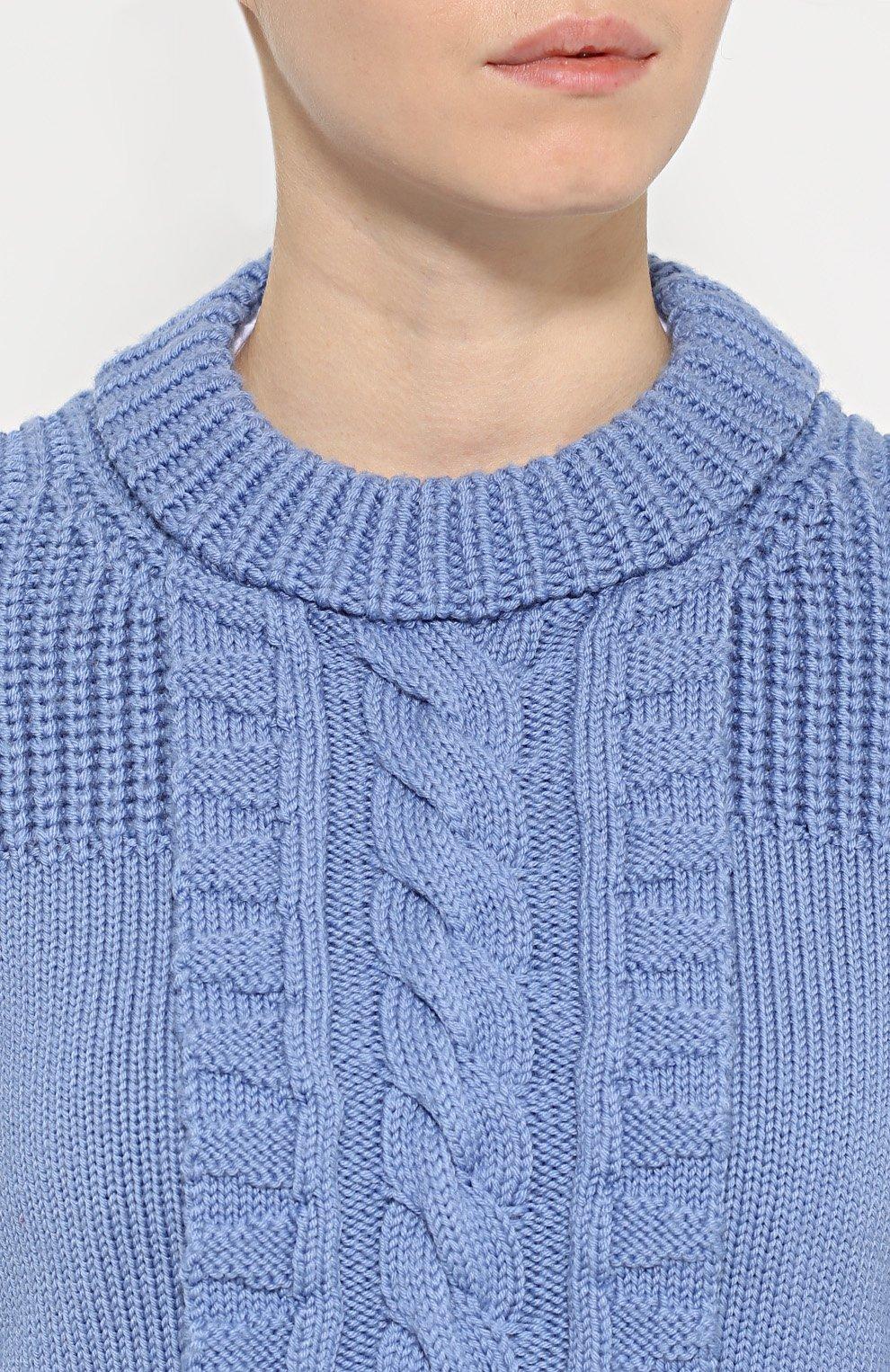 Женский пуловер английской резинкой с доставкой