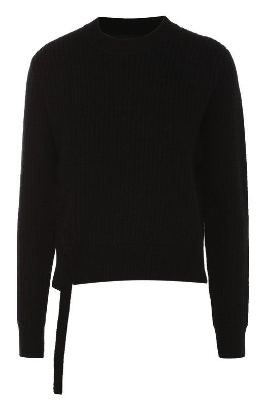 Пуловер фактурной вязки со шнуровкой Proenza Schouler R164792-KW049