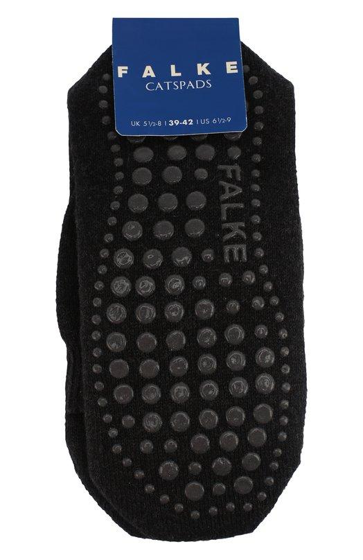 Носки Catspads FalkeКолготки и носки<br>Носки Catspad с широкой резинкой английской вязки вошли в осенне-зимнюю коллекцию 2016 года. Для создания темно-серого аксессуара мастера марки использовали приятную на ощупь, прочную пряжу из хлопка с добавлением шерсти мериноса. На подошве – круглые силиконовые шипы, препятствующие скольжению.<br><br>Российский размер RU: 39<br>Пол: Женский<br>Возраст: Детский<br>Размер производителя vendor: 39-42<br>Материал: Полиамид: 8%; Хлопок: 65%; Шерсть овечья: 25%; Эластан: 2%;<br>Цвет: Темно-серый