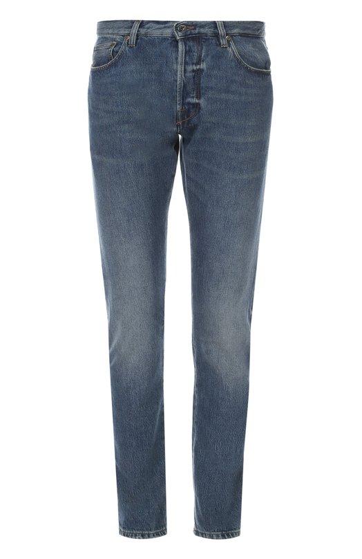 Зауженные джинсы с потертостями Valentino LV3DEC1J/3HP