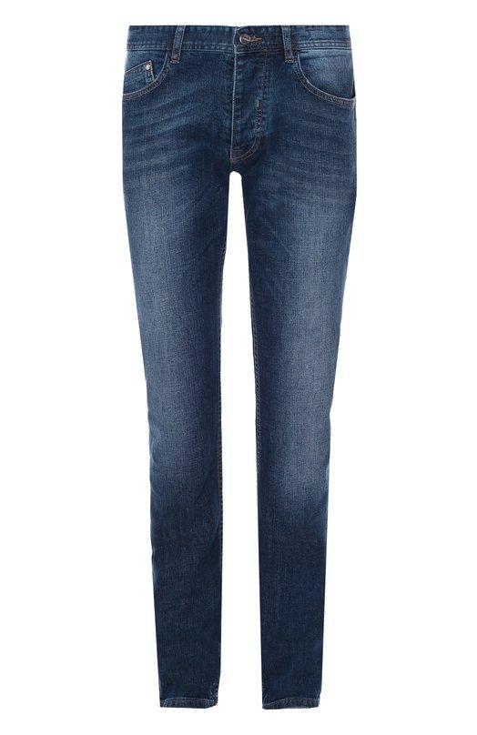 Зауженные джинсы с потертостями Iceberg I3M2801/6022