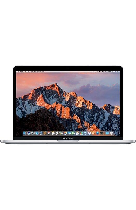 MacBook Pro 13 с панелью Touch Bar со встроенным датчиком Touch ID AppleMacBook<br>Он стал ещё быстрее и мощнее. Легче и тоньше. У него самый яркий экран и лучшая цветопередача среди всех ноутбуков Mac. Впервые в его клавиатуру встроена стеклянная сенсорная панель Touch Bar с поддержкой жестов Multi-Touch. Этот интеллектуальный элемент управления обеспечивает быстрый доступ к функциям именно в тот момент, когда они вам необходимы. Новый MacBook Pro создан на основе самых передовых идей. И у него есть всё для воплощения ваших.<br><br>Российский размер RU: 512<br>Пол: Женский<br>Возраст: Взрослый<br>Размер производителя vendor: 512GB<br>Цвет: Серебряный