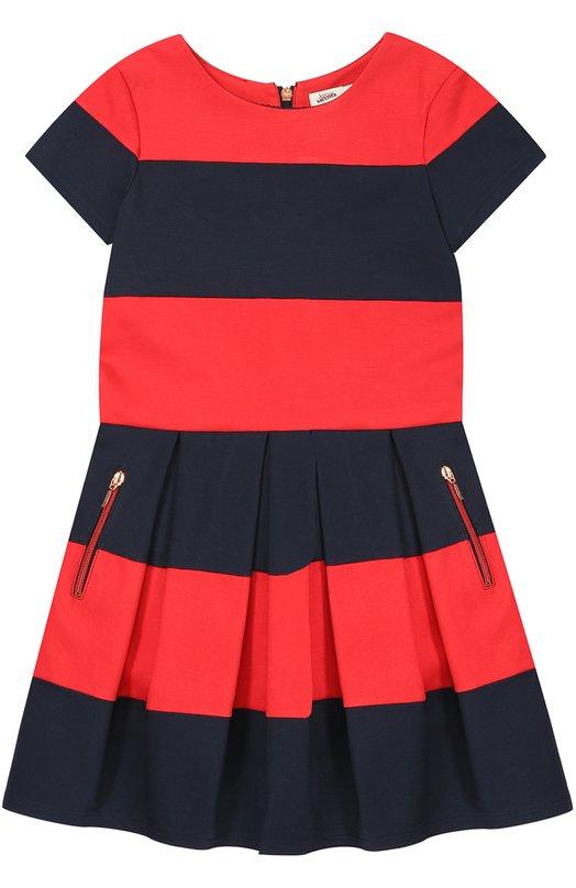Платье джерси в полоску Jean Paul Gaultier 5I30084/8-12A+