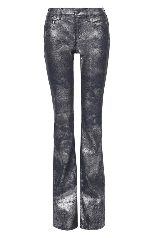 Расклешенные джинсы с металлизированной отделкой Ralph LaurenДжинсы<br><br><br>Российский размер RU: 42<br>Пол: Женский<br>Возраст: Взрослый<br>Размер производителя vendor: 26<br>Материал: Хлопок: 97%; Полиуретан: 3%;<br>Цвет: Синий