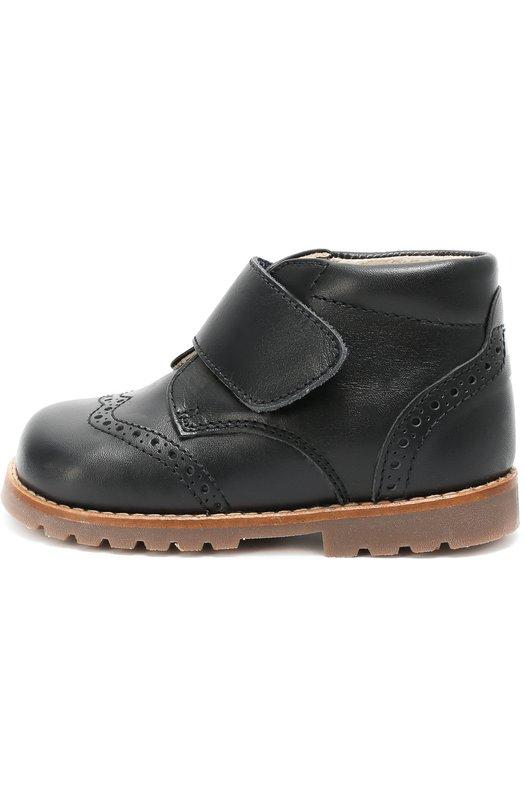 Кожаные ботинки с брогированием Beberlis 219-W16-A/21-24