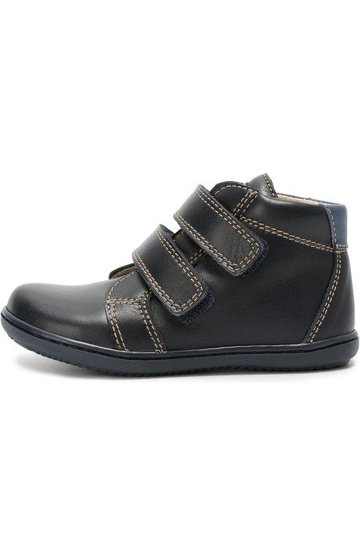 Высокие кожаные ботинки с застежкой велькро Beberlis 19557-B/24-27