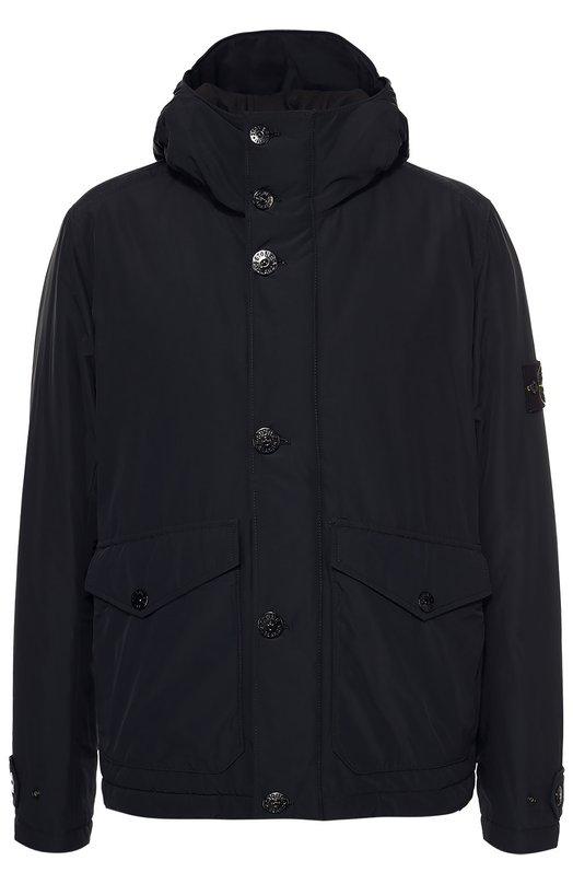 Утепленная куртка с капюшоном Stone Island 651542126