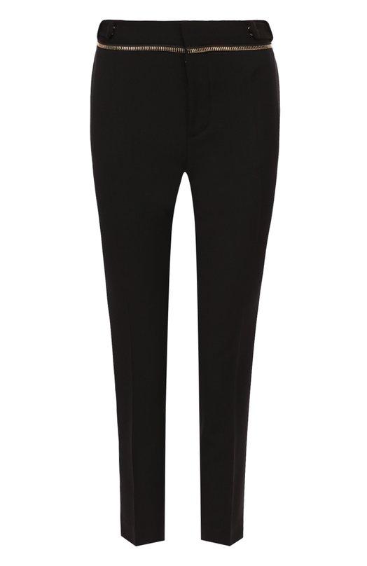 Укороченные брюки-скинни с декоративной молнией Dsquared2 S72KA0651/S36258