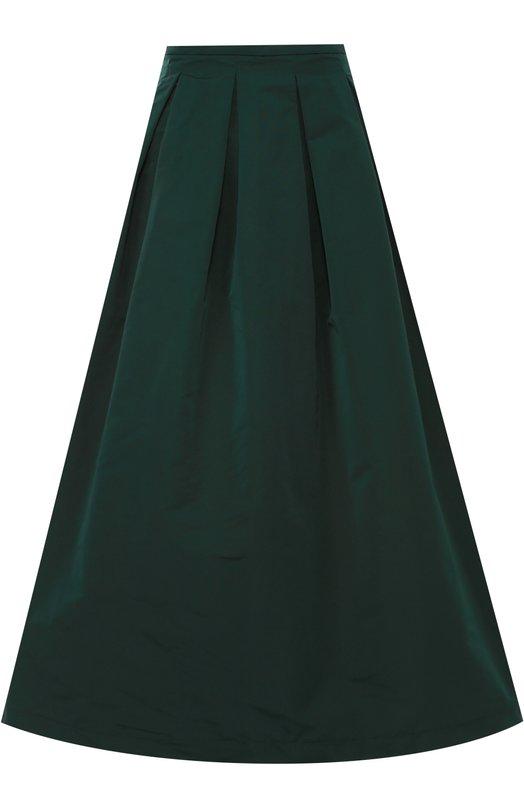 Пышная юбка-миди с защипами Rochas R0WI356204/RI450200A