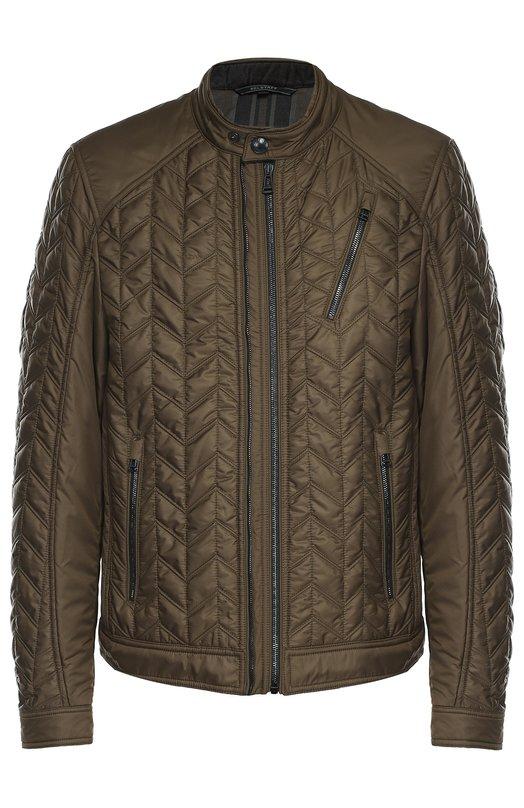 Утепленная стеганая куртка на молнии Belstaff 71020381