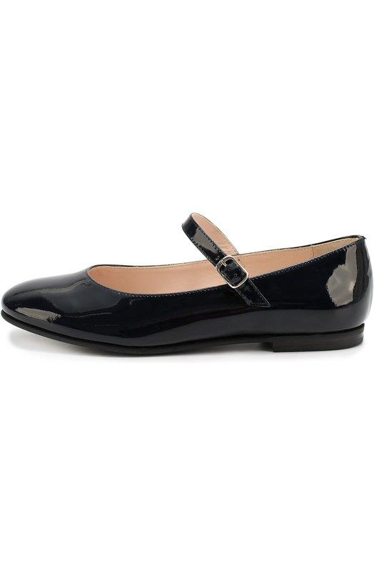 Лаковые туфли с ремешком Il Gufo G234/PATENT LEATHER/35-40/VERNICE