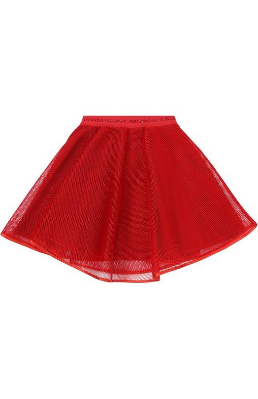 Многослойная юбка с сеткой Monnalisa 718708/8962/4-10