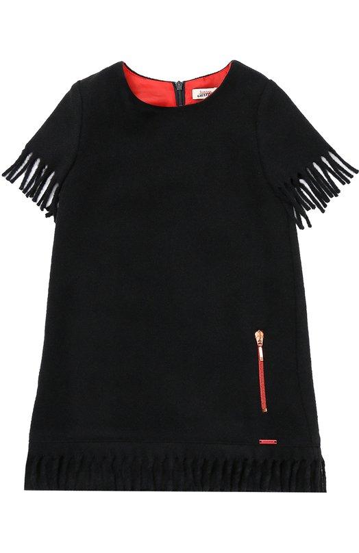 Платье прямого кроя с бахромой Jean Paul Gaultier 5I30074/4-6A