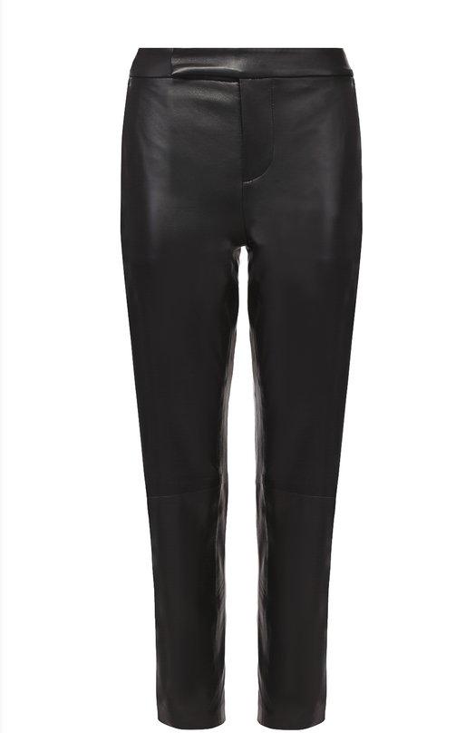 Укороченные кожаные брюки-скинни Polo Ralph Lauren V44/XZ2IR/XY2IR