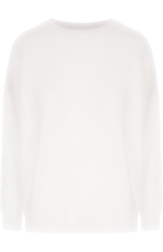 Кашемировый пуловер свободного кроя со спущенным рукавом Saint Laurent 419879/Y1ZZ2