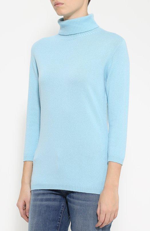 свитер с большим воротником женский спицами