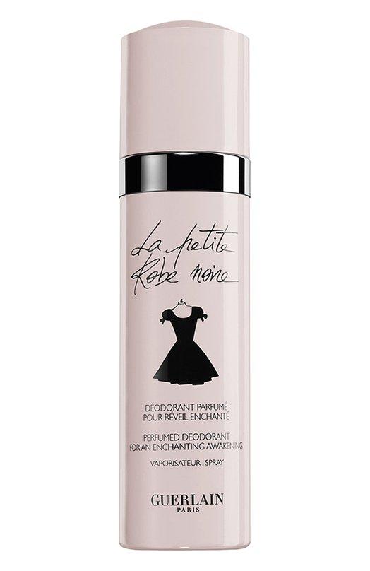 Парфюмированный дезодорант-спрей La Petite Robe Noire GuerlainДезодоранты<br><br><br>Объем мл: 100<br>Пол: Женский<br>Возраст: Взрослый<br>Цвет: Бесцветный