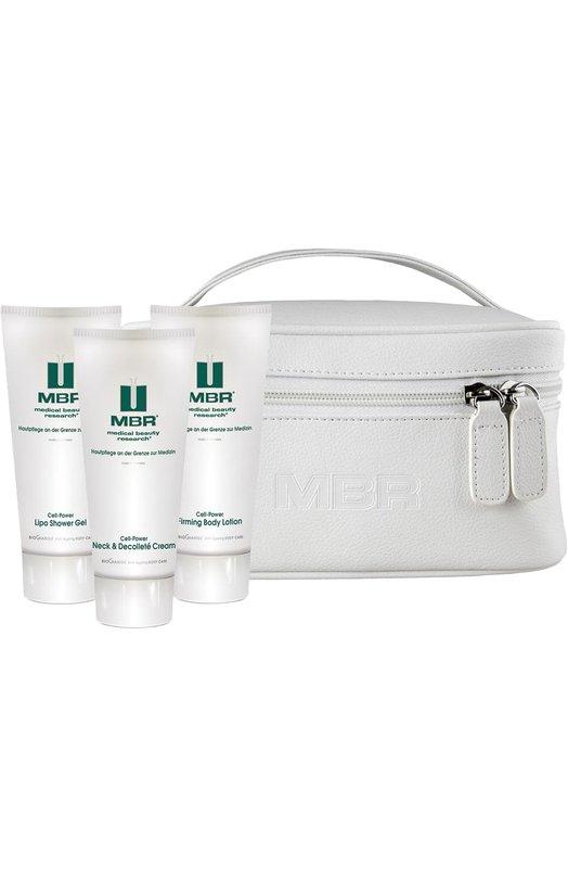Набор для тела Anti-Ageing Body Care: Гель для душа + Крем + Антицеллюлитное средство Medical Beauty Research 1637/MBR