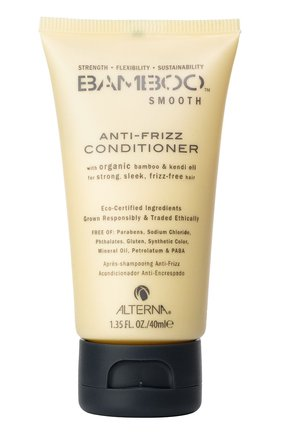 Полирующий кондиционер Bamboo Smooth Anti-Frizz Conditioner Alterna | Фото №1