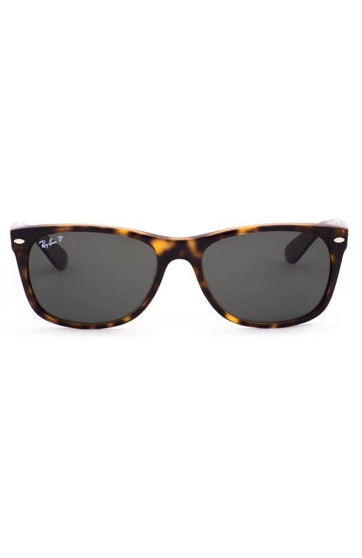 Солнцезащитные очки Ray-BanОчки<br><br><br>Российский размер RU: 55<br>Пол: Мужской<br>Возраст: Взрослый<br>Размер производителя vendor: 55<br>Цвет: Леопардовый