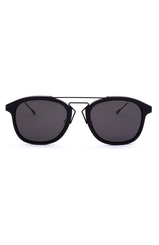 Солнцезащитные очки DiorОчки<br><br><br>Пол: Мужской<br>Возраст: Взрослый<br>Размер производителя vendor: NS<br>Цвет: Черный
