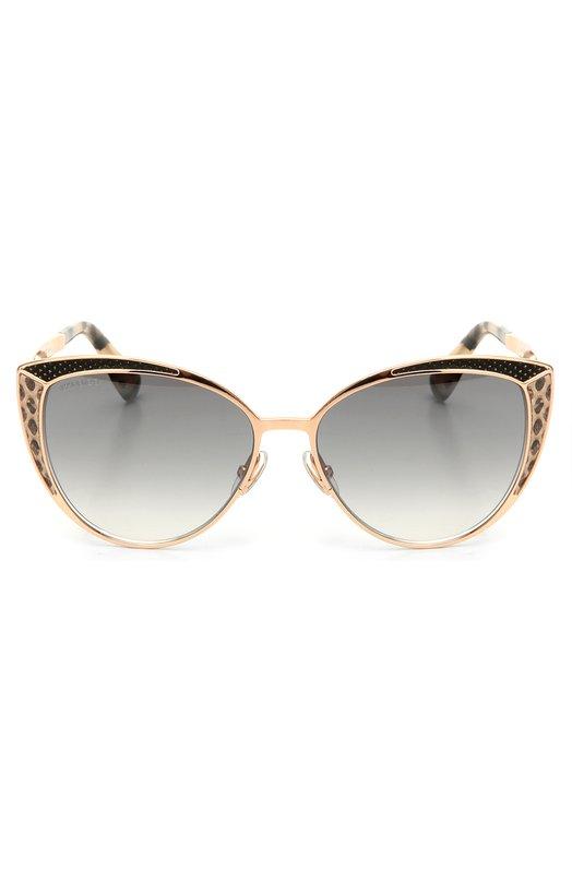 Солнцезащитные очки Jimmy ChooОчки<br><br><br>Пол: Женский<br>Возраст: Взрослый<br>Размер производителя vendor: NS<br>Цвет: Золотой