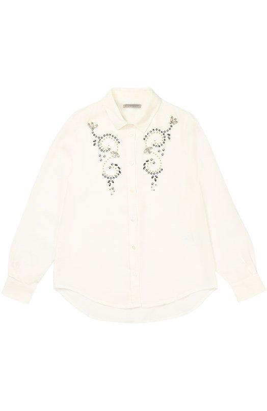 Блуза с декоративной отделкой Ermanno Scervino 39I/CM11/10-16