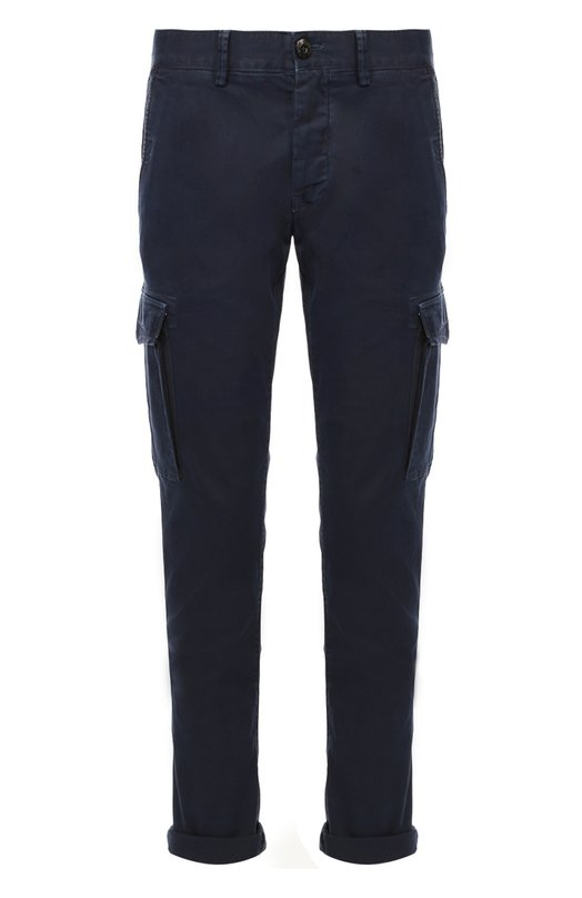 Хлопковые брюки карго Stone Island 65153S2WN
