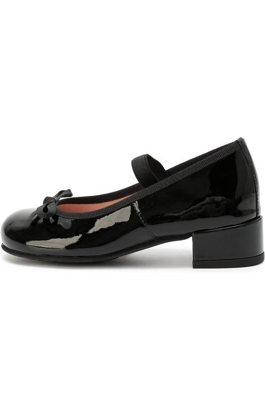 Лаковые туфли с бантом Pretty Ballerinas 44.105/SHADE